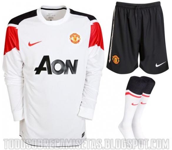 uniforme del manchester united completo