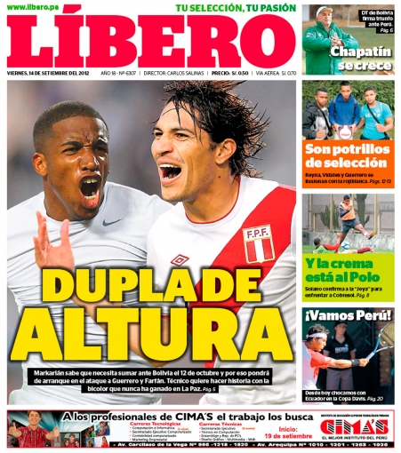 diarios deportivos de bolivia: