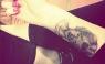 Miley Cyrus se tatuó la cara de su abuela en el antebrazo [FOTOS]