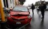 [VIDEO] Llovizna y exceso de velocidad provocan accidente en el Centro de Lima