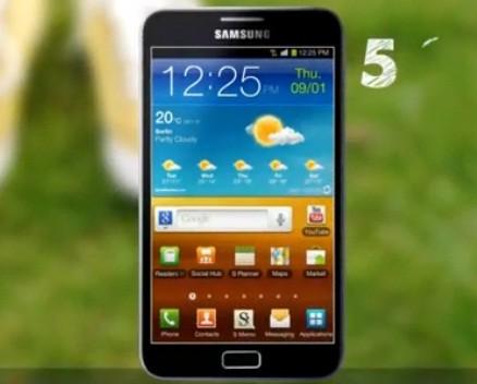 Galaxy Note, el móvil-tableta de Samsung