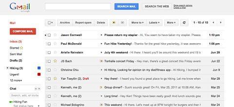 Google presentó nuevo diseño de Gmail