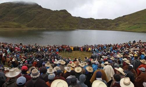 Paro antiminero en Cajamarca continúa en Diciembre