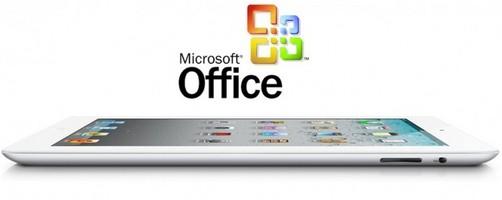 Versión especial de Office para iPad saldría el 2012