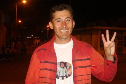 El Secretario General del MANPE en Nuevo Chimbote Pervis Olivares responde para Generaccion.com
