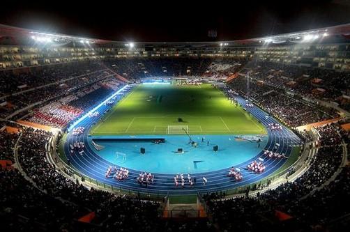 Estadio Nacional quedó listo para el 'U' vs. Vasco da Gama