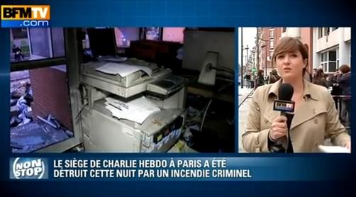Queman sede del polémico diario francés que caricaturizó al profeta Mahoma