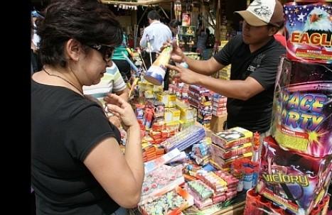 Lima: decomisan más de 500 kilos de pirotécnicos