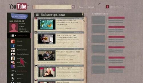 YouTube cambia de diseño y da mayor protagonismo a los canales