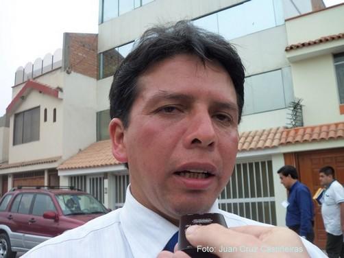 Entrevista al Decano electo del Colegio de Contadores del Callao, Segundo Tello