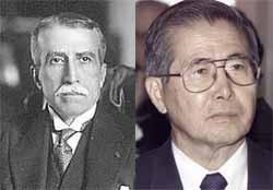 Leguía y Fujimori