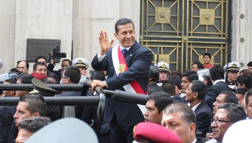 Ollanta Humala: 'Necesitamos diplomacia acorde a la transformación social'