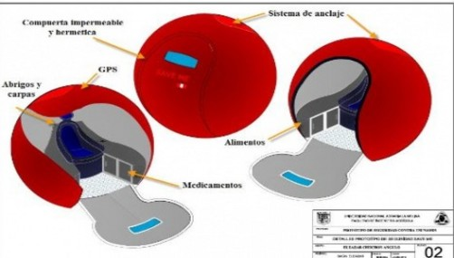 Científicos peruanos crean refugio flotante para sobrevivir a tsunami