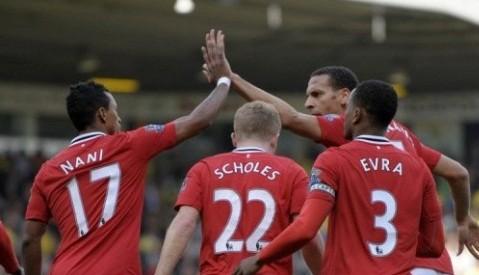 Manchester United goleó por 3-1 al Tottenham
