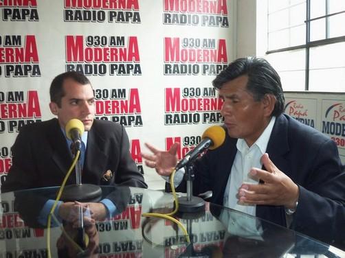 Líder regional de Ancash, Lombardo Mautino, señala que la corrupción es el principal problema de esta región