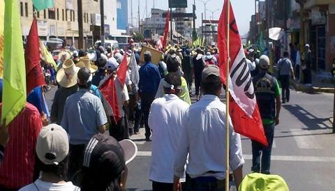 Miles de ancashinos se plegaron a la Marcha por el Agua
