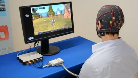 Lanzan un sistema para controlar los juegos de computadora con la mente