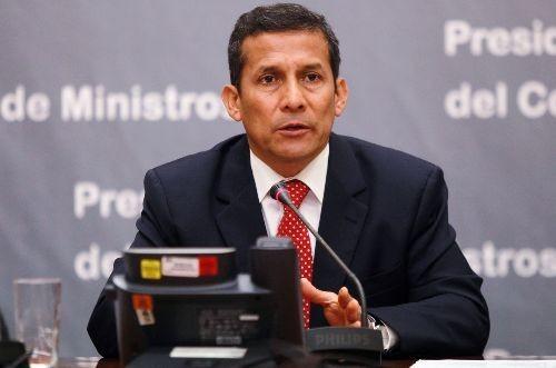 Ollanta Humala resaltó el rol de la policía en el proceso de integración del Perú