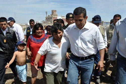 Ollanta Humala: 'Debemos defender y fortalecer el principio de autoridad'