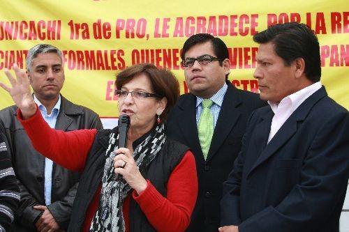 Susana Villarán no quiere que le hagan propaanda cuando ayude