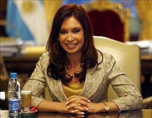 Cristina Fernández: 'No me alcanza el tiempo para hacer todo lo que mi país necesita'
