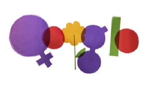 Google rinde homenaje a las mujeres del mundo a través de un 'doodle'