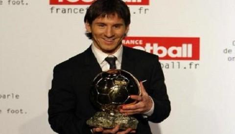 Lionel Messi fue elegido como el ganador del Balón de Oro