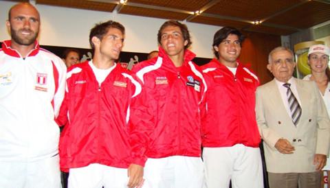 Mañana arranca la Copa Davis para el equipo peruano