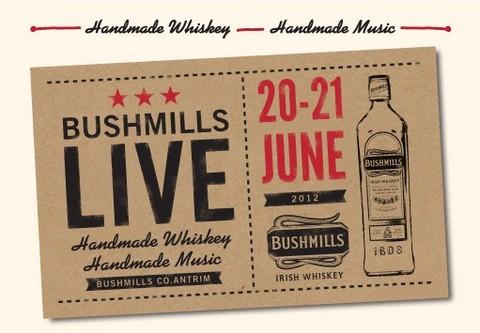 Bushmills organizará el primer festival de la música en una destilería de whisky irlandés