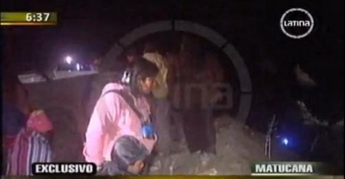 Nuevo accidente de tránsito en Matucana deja 2 muertos y 11 heridos