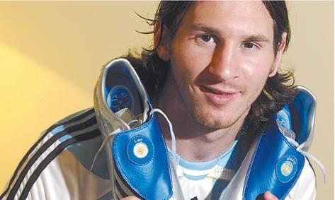 Messi usará botines con chip para evaluar su rendimiento