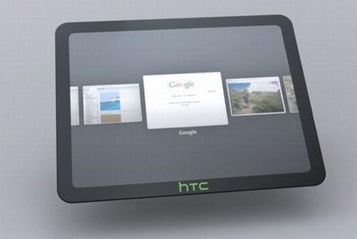 HTC tendrá su tableta en el 2012