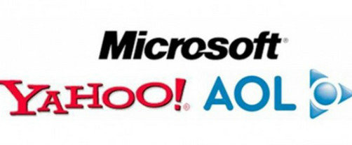 Yahoo!, Microsoft y AOL se unen contra Google y Facebook