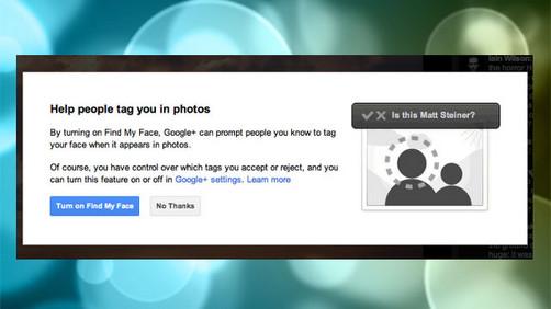 Google + incorpora reconocimiento facial a las fotos