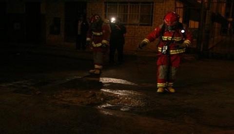 El Agustino: Alarma entre vecinos por fuga de sustancia corrosiva
