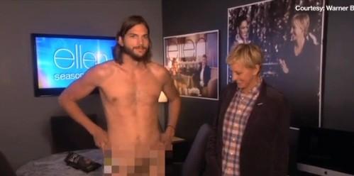 VIDEO: mira el desnudo de Ashton Kutcher en televisión