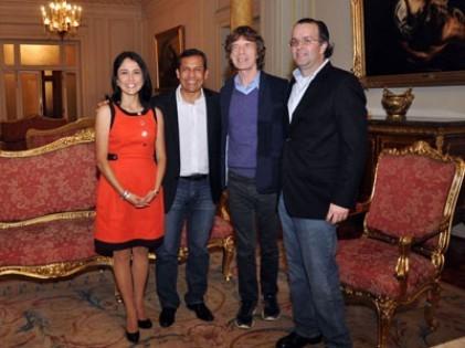 Nadine Heredia habló sobre visita de Mick Jagger al Perú