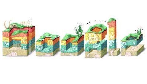 Geólogo inspira 'doodle' ecológico en Google
