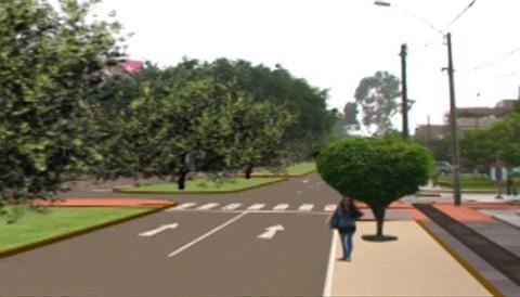 Primera vía peatonal para invidentes en el Perú