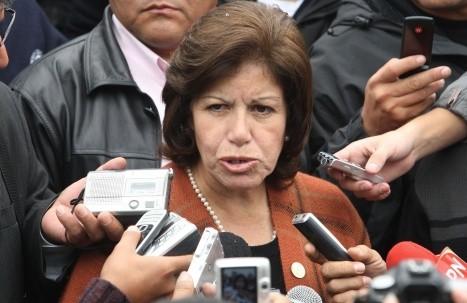 Lourdes Flores Nano no apoyará revocatoria contra Villarán