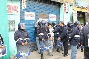 Mercado del Rímac es clausurado por falta de seguridad