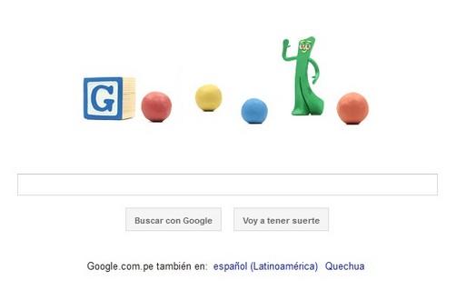 Art Clokey es homenajeado por Google con un doodle animado de plastilina