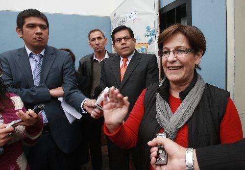 Susana Villarán: 'Municipio no es responsable de aniego en Chorrillos'