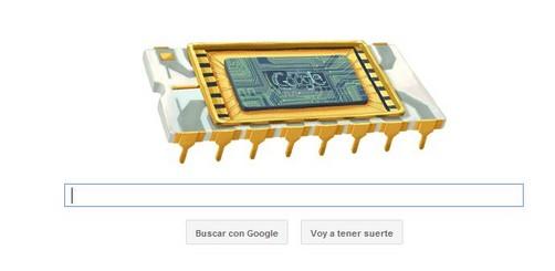Google rinde homenaje con 'doodle' a cofundador de Intel