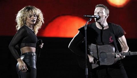 Vea la presentación de Coldplay y Rihanna en los Grammys