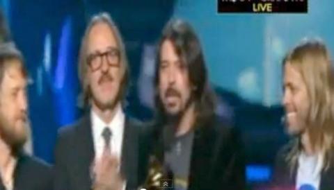 Foo Fighters se llevan cinco premios Grammy a casa