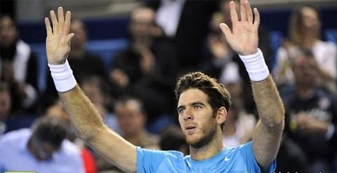 Del Potro clasificó a octavos de final en torneo de Indian Wells