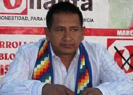 Ayacucho: Integrante de Gana Perú es detenido con insumos químicos