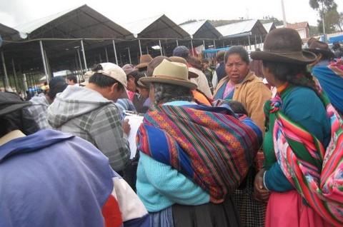Movimiento Acción Nacionalista Peruano (MANPE) recolecta firmas en Cusco