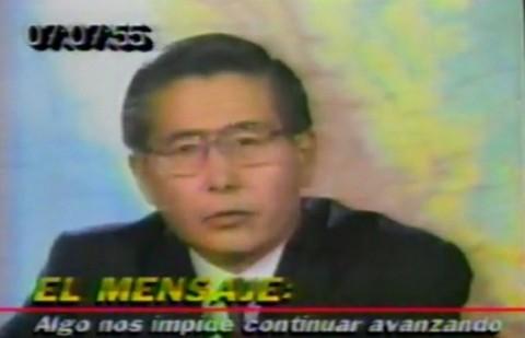 20 años después: Recuerda el mensaje a la nación de Alberto Fujimori el día que disolvió el Congreso (video)